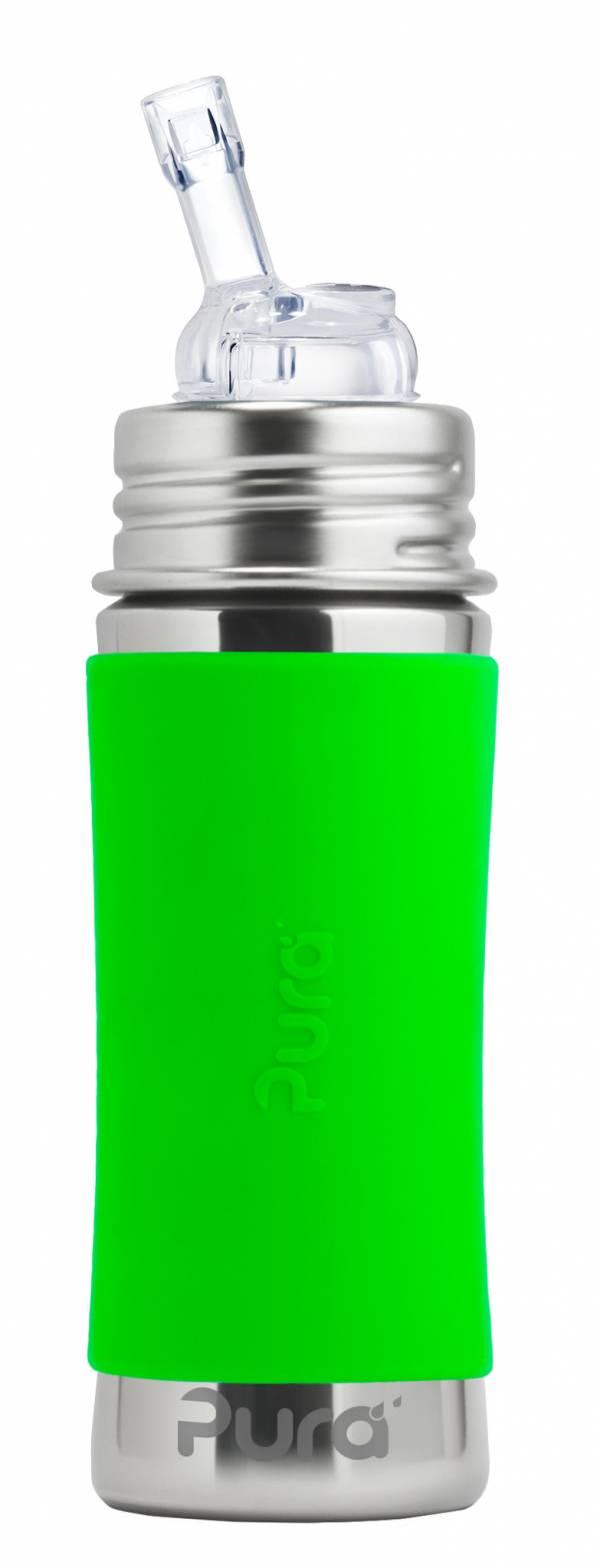 straw bottle